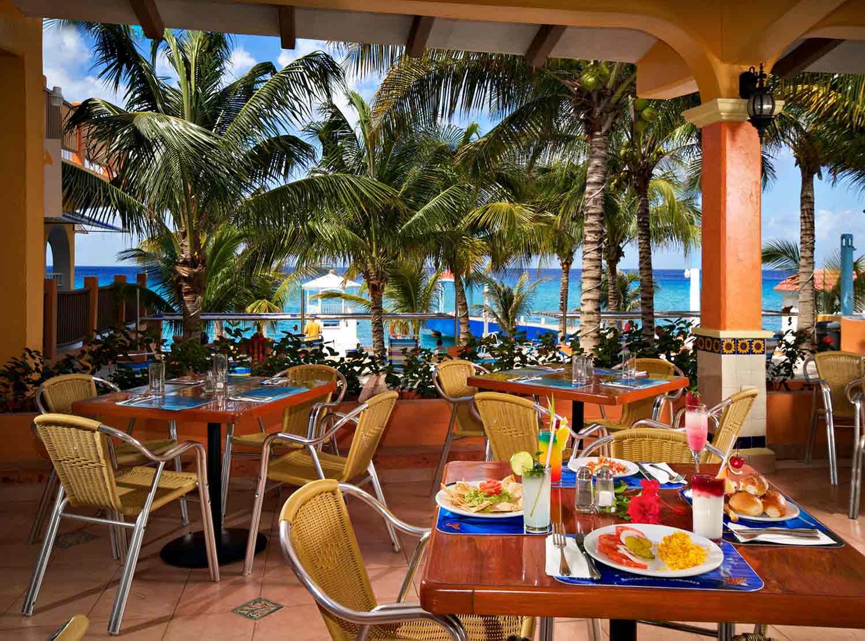 comedor del hotel Cozumel & Resort